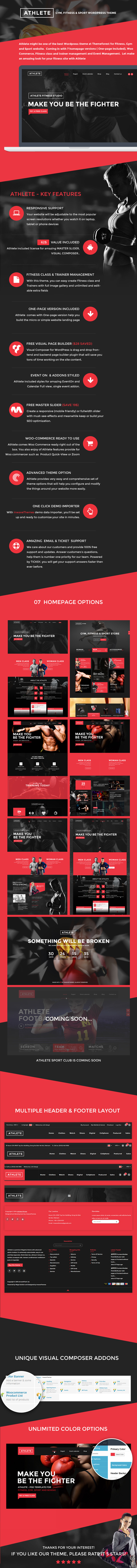 Sportler Fitness WordPress-Thema