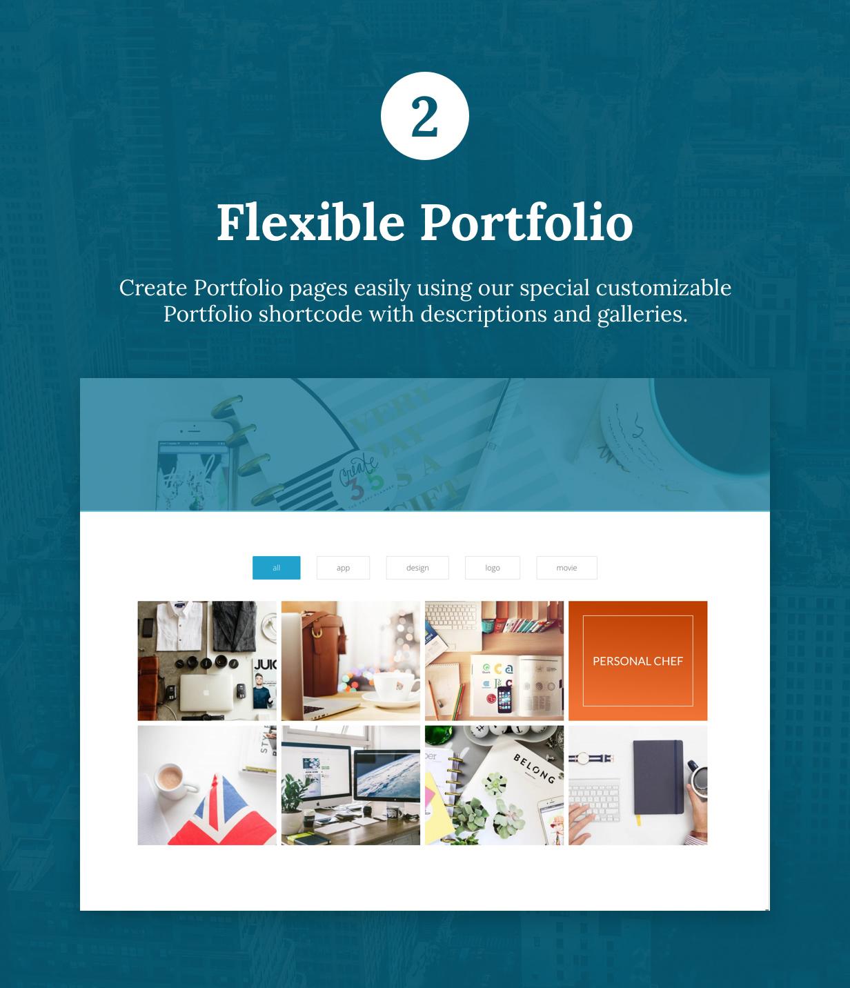 Tirex Business - Agentur & Corporate WordPress Theme - 3