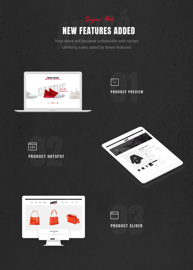 Andre - Street Style Sport & Fitness WooCommerce Theme - 10