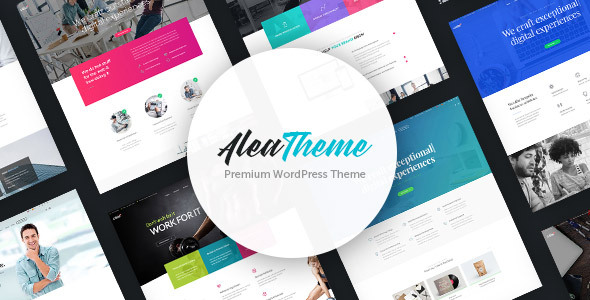 Wordpress Immobilien Template Alea - Business Multipurpose WordPress Theme