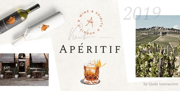 Wordpress Shop Template Aperitif - Wine Shop and Liquor Store
