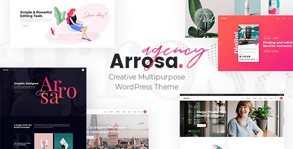 Wordpress Immobilien Template Arrosa - Startup Business Theme