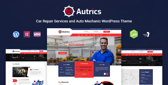 Wordpress Immobilien Template Autrics | Car Services and Auto Mechanic WordPress Theme