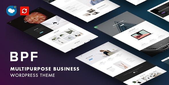 Wordpress Immobilien Template BPF - Responsive Multi-Purpose WordPress Theme