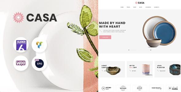 Wordpress Shop Template Casa - Furniture WooCommerce Theme