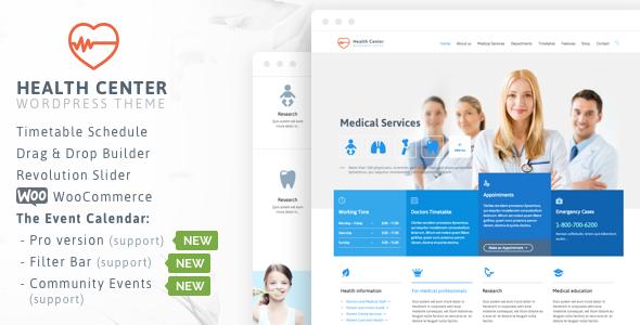 Wordpress Immobilien Template Healthcare - Medical for Doctor Dentist