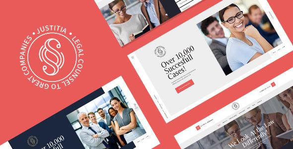Wordpress Immobilien Template Justitia | Multiskin Lawyer & Legal Adviser WordPress Theme