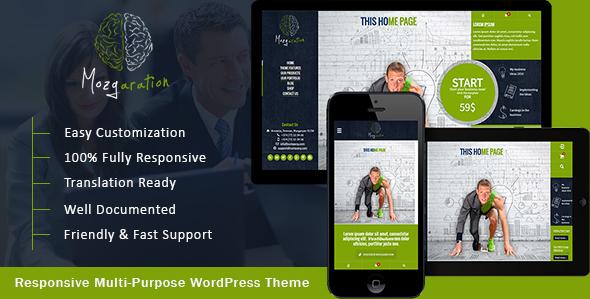 Wordpress Corporate Template Mozgaration - Responsive Multi-Purpose WordPress Theme