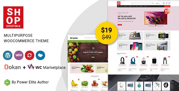 Wordpress Shop Template Shopinia - Multipurpose WooCommerce Theme
