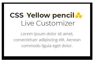 Gelber Bleistift