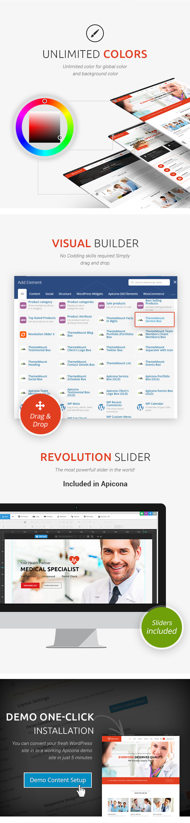 Apicona Erweitertes WordPress-Theme