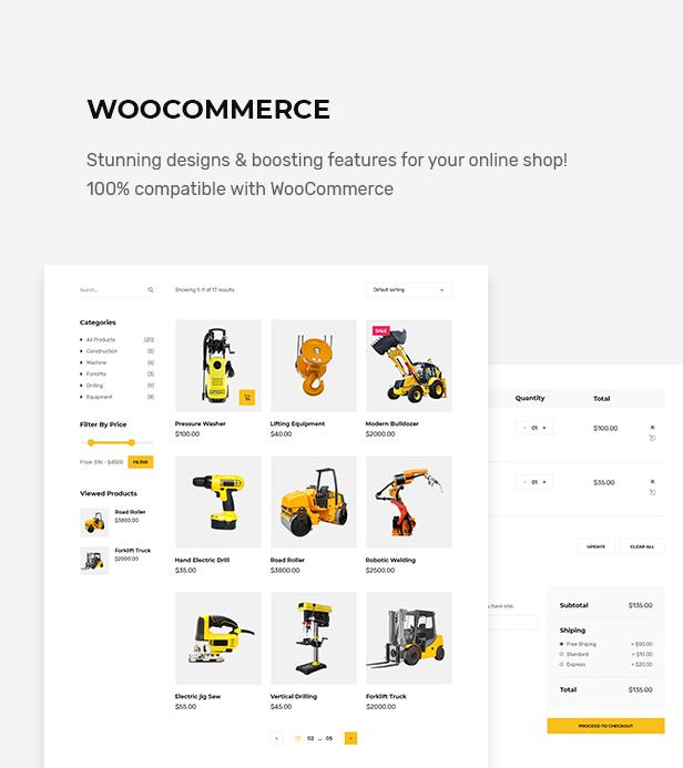 Factora - Fabrik, Industrie Geschäft WordPress Theme - 3
