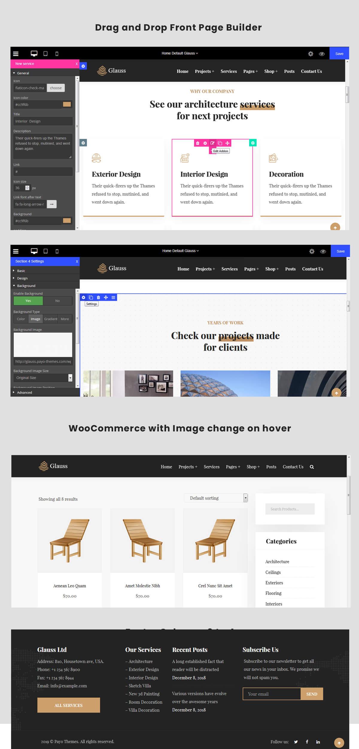 WordPress-Architektur-Theme