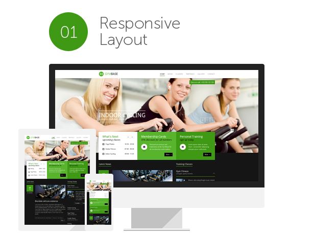 Crossfit, Boxen, Training, Aerobic, Fitness und WordPress Theme