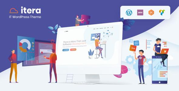 Wordpress Immobilien Template iTera - IT, SEO, Digital WordPress Theme