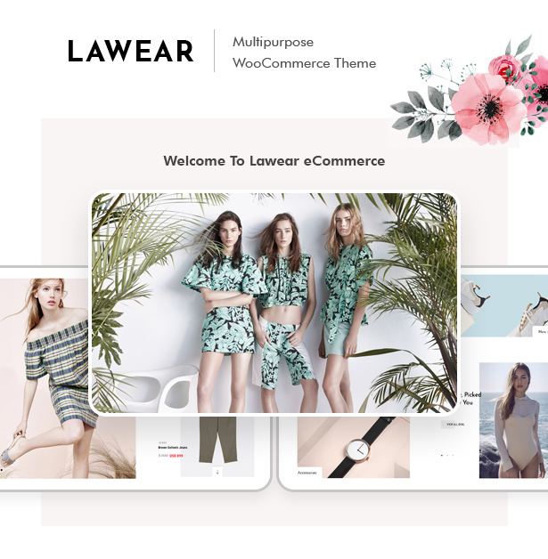 Lewear - Mehrzweck WooCommerce Theme - 1