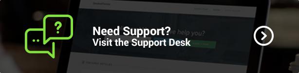 Das Kleaner WordPress Theme Support