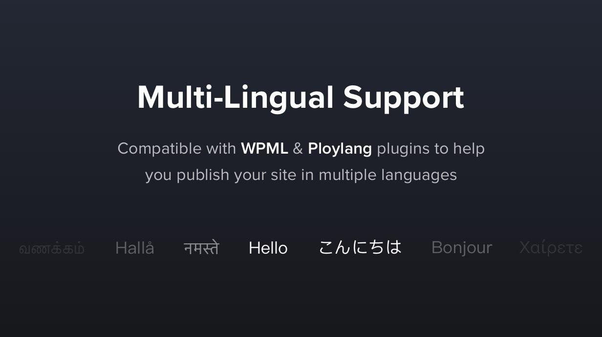 Übersetzbar und mehrsprachig