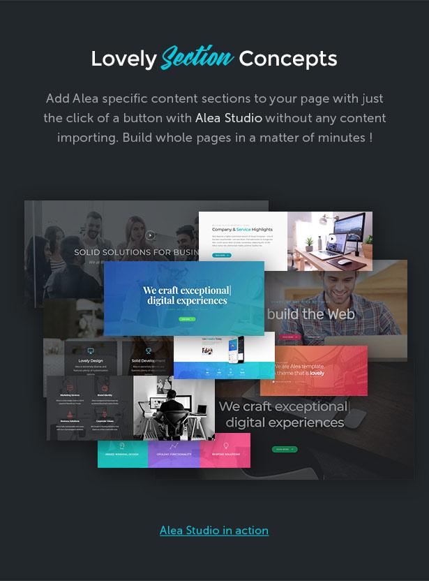 Alea - Business Mehrzweck WordPress Theme - 7