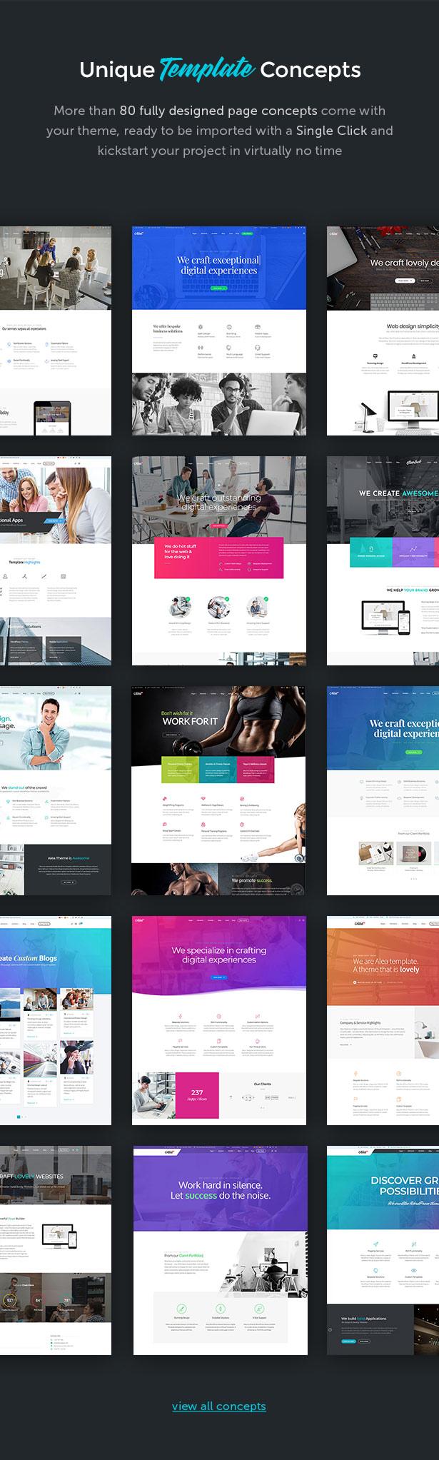 Alea - Business Mehrzweck WordPress Theme - 4
