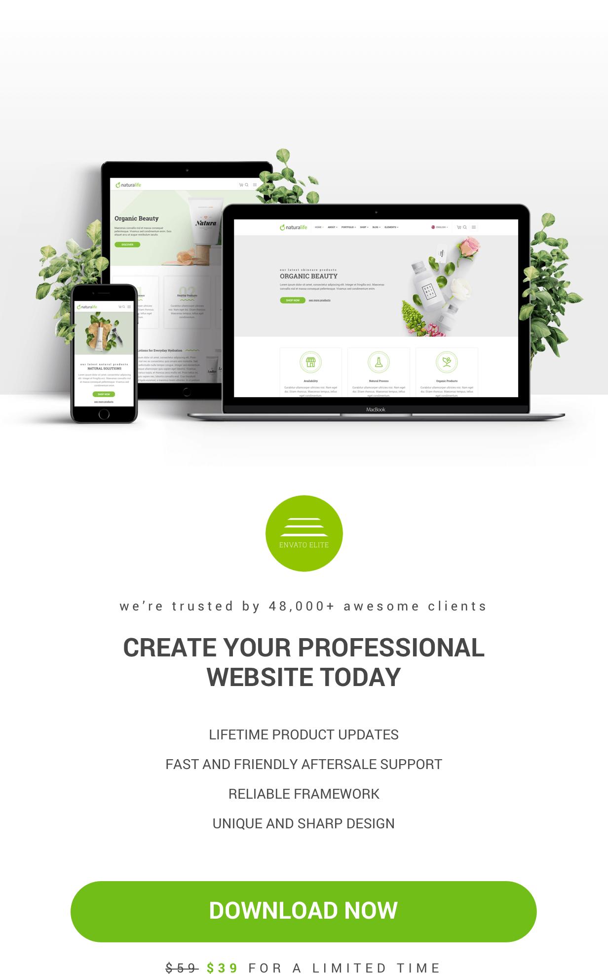 NaturaLife | Gesundheit & Bio WordPress Theme - 5