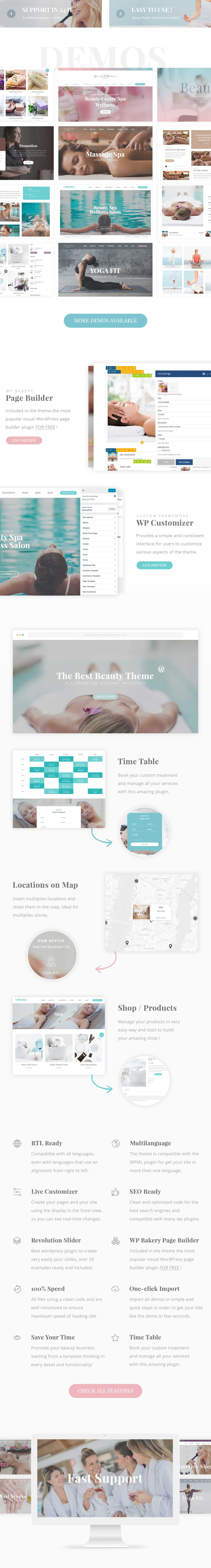 Beauty Pack - Wellness Spa & Beauty Massagesalons WP - 1