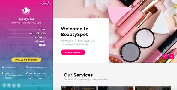 Wordpress Immobilien Template BeautySpot - WordPress Theme for Beauty Salons