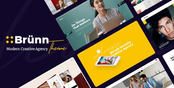 Wordpress Immobilien Template Brünn - Creative Agency Theme