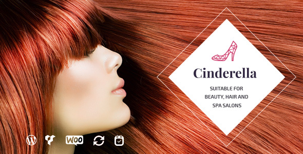 Wordpress Immobilien Template Cinderella - Beauty and SPA Theme
