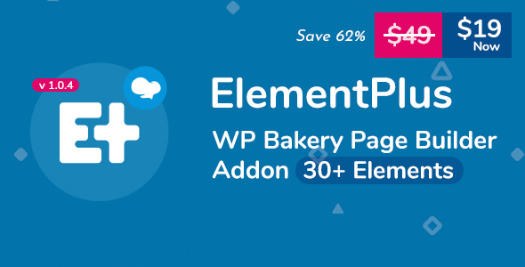Wordpress Add-On Plugin Element Plus - WPBakery Page Builder Addon