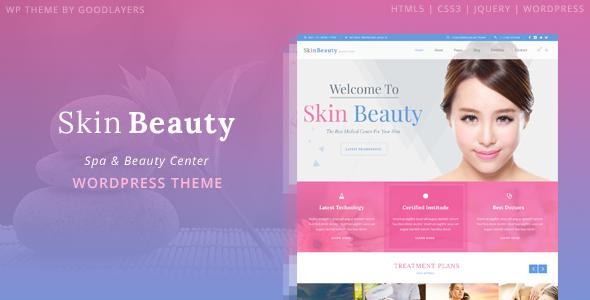 Wordpress Immobilien Template Skin Beauty - Spa WordPress