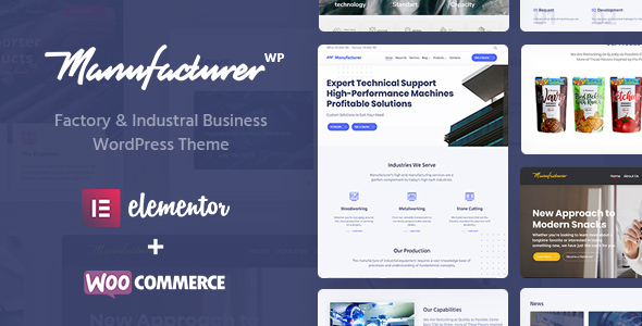 Wordpress Immobilien Template Manufacturer - Factory and Industrial WordPress Theme