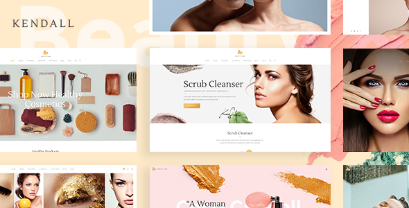 Wordpress Immobilien Template Kendall - Spa, Hair & Beauty Salon Theme