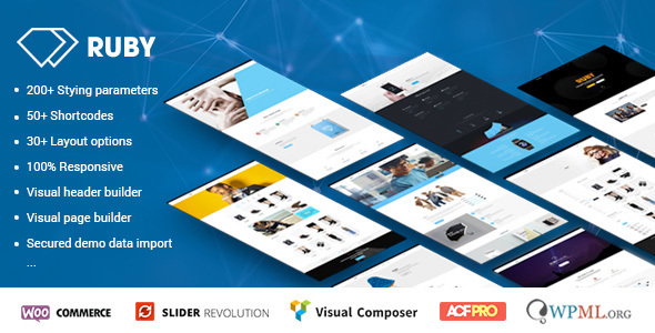 Wordpress Corporate Template Ruby - WordPress Theme for Business and Portfolio