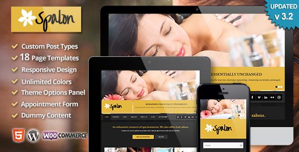 Wordpress Immobilien Template Spalon - Responsive WordPress Theme