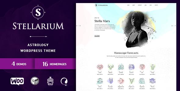 Wordpress Immobilien Template Stellarium – Horoscope and Astrology WordPress Theme