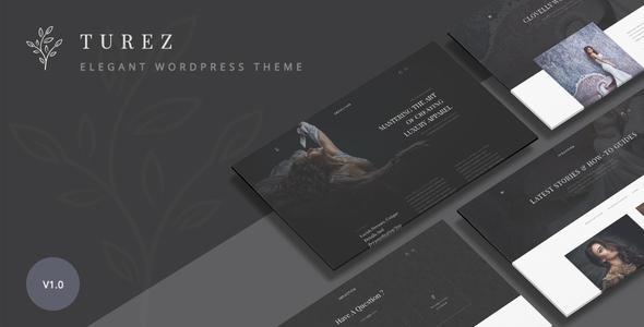 Wordpress Shop Template Turez - Luxury Bridal WooCommerce Theme