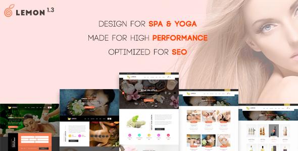 Wordpress Immobilien Template Lemon | Spa & Beauty Responsive Multi-Purpose WordPress Theme