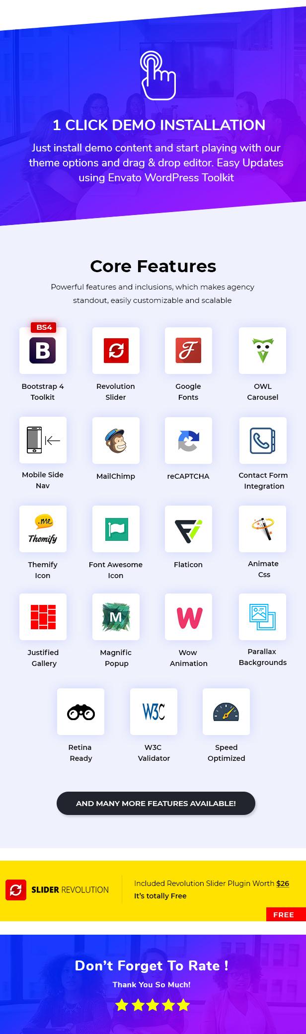 BeGlide: Corporate Business Berater Agentur WordPress Theme - 7