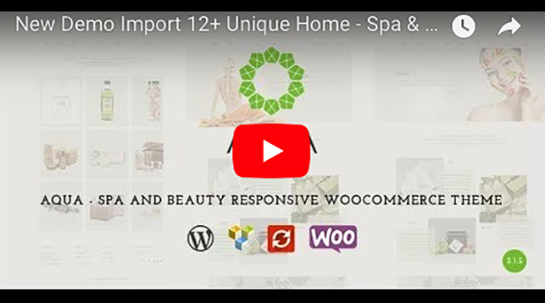 Aqua - Spa und Beauty Responsive WooCommerce WordPress Theme - 3