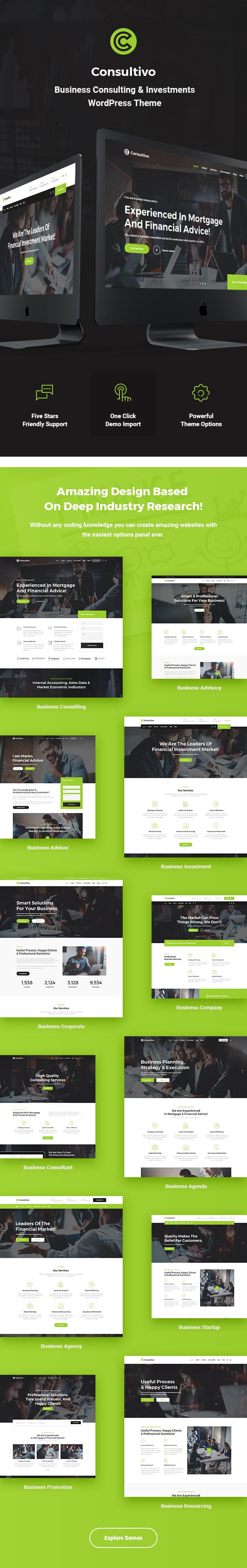 Consultivo - Unternehmensberatung und Investitionen WordPress Theme - 5