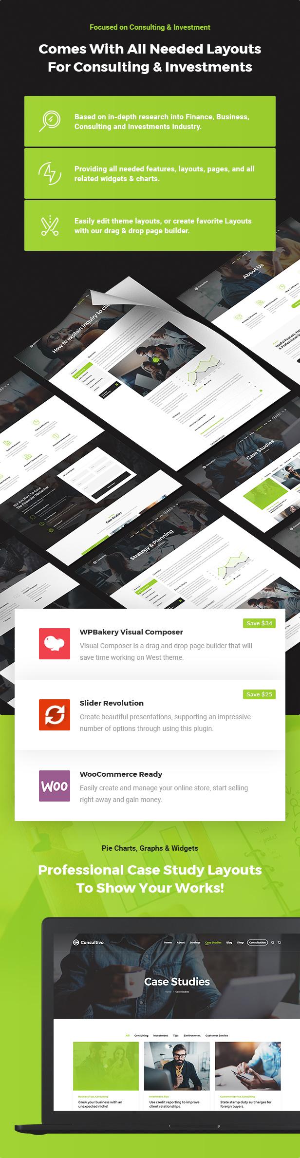 Consultivo - Unternehmensberatung und Investitionen WordPress Theme - 6