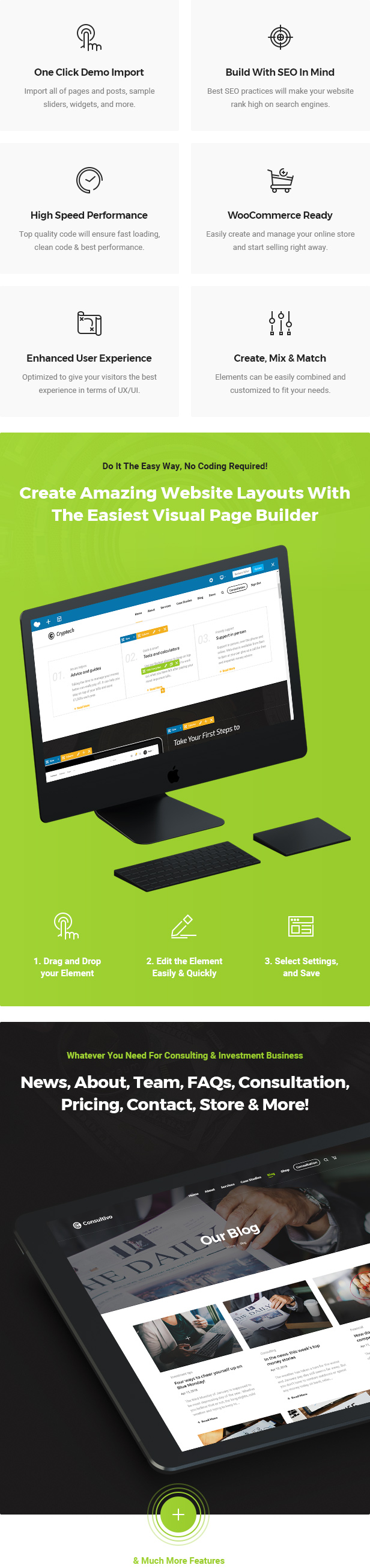 Consultivo - Unternehmensberatung und Investitionen WordPress Theme - 7