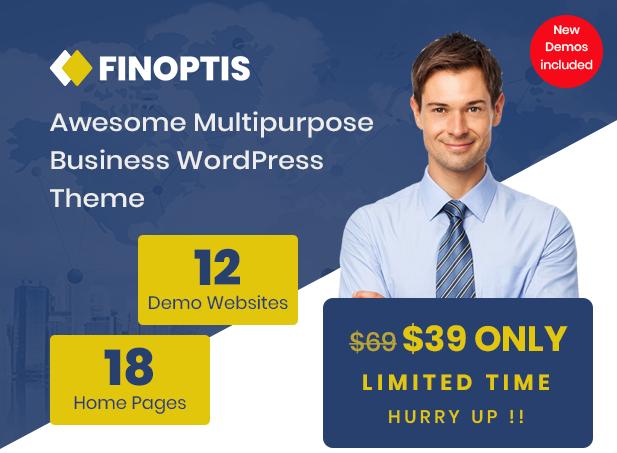 Finoptis - Mehrzweck-Business-WordPress-Theme