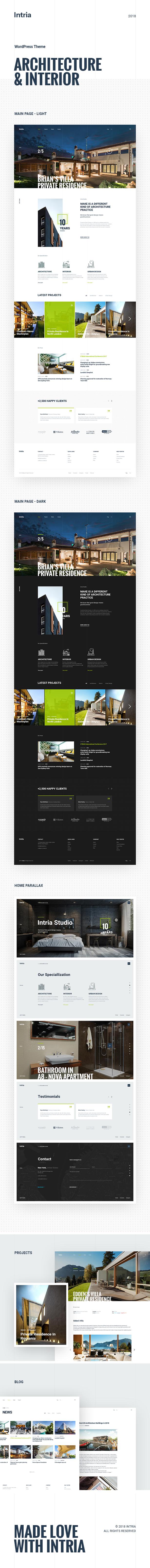 Intria - Architektur und Interieur WordPress Theme - 5