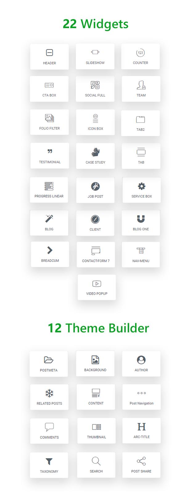 ZXP - Bauunternehmen WordPress Theme - 2