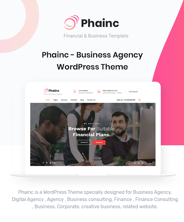 Phainc WordPress Theme