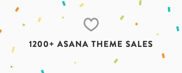 Asana WordPress Theme Presentation Image