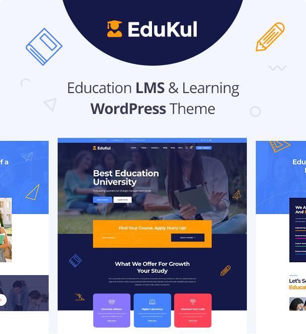 Edukul | Online-Kurse WordPress Theme - 5
