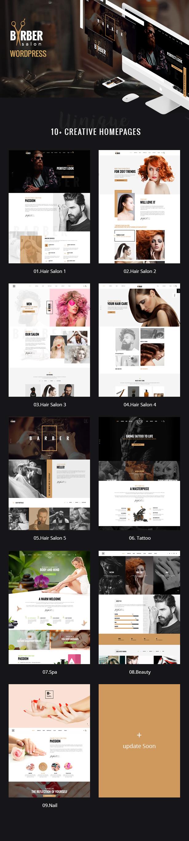 Friseur - Friseur-, Tattoo- und Schönheitssalon WordPress Theme - 9